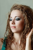 Model with perfect make up Royalty Free Stock Image