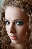 Model with perfect make up Royalty Free Stock Photos