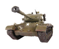 Model of Pershing tank Royalty Free Stock Photography