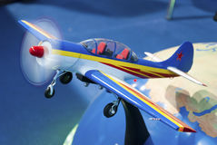 Model of plane Royalty Free Stock Photography