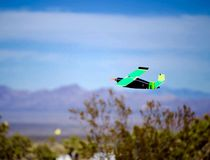 Model plane taking flight Stock Photo