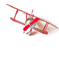 Model plane vintage isolated Stock Image