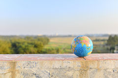 model planet för jord Fotografering för Bildbyråer