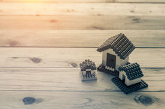 Model of plastic house building Stock Photography