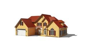 Model plattelandshuisje Stock Foto's
