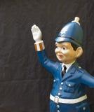 Model policeman Royalty Free Stock Photos