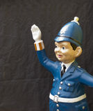 Model politieagent Royalty-vrije Stock Foto's