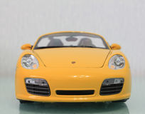 Model Porsche boxster S. front view Royalty Free Stock Photo