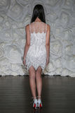 A model pose at Naeem Khan lookbook shoot during Fall 2015 Bridal Collection Royalty Free Stock Images