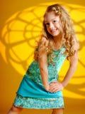 model posera för modekvinnlig Royaltyfri Bild