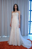 A model poses at the Henry Roth Bridal Sprng 2016 Collection presentation Royalty Free Stock Photo