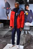 A model poses at the Nautica Fall 2017 presentation Stock Images