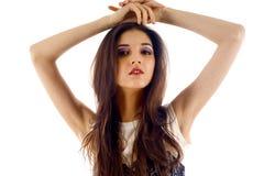 Model Posing Royalty Free Stock Photography
