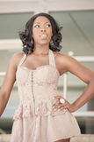 Model posing Royalty Free Stock Photo