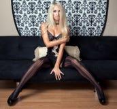 Model posing in lingerie Stock Image
