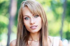 Model Posing over Green Stock Photos