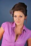 Model posing in studio royalty free stock photos