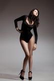 Model posing studio shot Royalty Free Stock Image