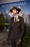 Model pozuje być ubranym Nick Graham podczas Nowy Jork mody tygodnia mężczyzna spadku, zimy/2016 Obrazy Stock