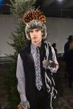 Model pozuje być ubranym Nick Graham podczas Nowy Jork mody tygodnia mężczyzna spadku, zimy/2016 Obrazy Royalty Free