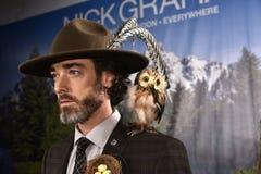 Model pozuje być ubranym Nick Graham podczas Nowy Jork mody tygodnia mężczyzna spadku, zimy/2016 Zdjęcia Royalty Free