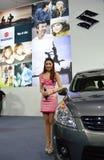 Model presented Suzuki Stock Photos