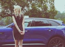 Model przy Salone Auto Torino (Turyn Auto przedstawienie) Zdjęcie Stock