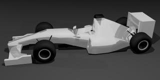 Model racing car. Creative design of model racing car Royalty Free Stock Photo