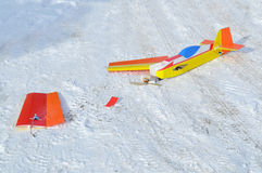 Model radio-controlled planes Royalty Free Stock Photo