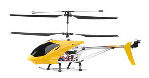 Model radio-gecontroleerde helikopter Stock Afbeelding