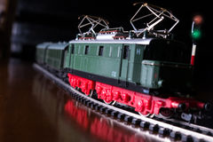 Model railroad Stock Photography