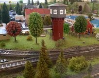 Model railroad Royalty Free Stock Photos
