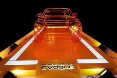 Model of range rover evoque stock photography