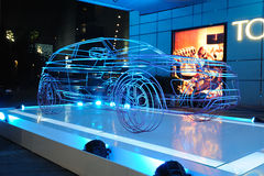 Model of range rover evoque Royalty Free Stock Image