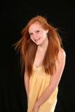 model redhead Royaltyfria Foton