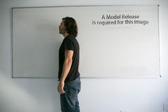 A model release is needed Royalty Free Stock Image