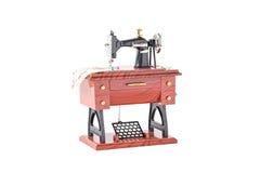 Model rocznik szwalna maszyna Obrazy Stock