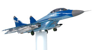 Model of the Russian fighter Royalty Free Stock Image