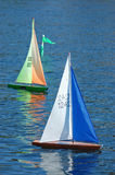 Model Sailboat Stock Photo