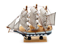 Model of sailboat Royalty Free Stock Photography