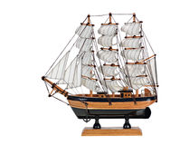 Model Sailboat Royalty Free Stock Photos