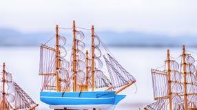 Model of sailboat Royalty Free Stock Photos