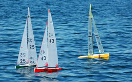 Model Sailboats Royalty Free Stock Photos
