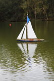 Model Sailing Boat Royalty Free Stock Images