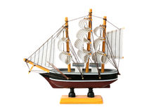 Model of sailing boat Royalty Free Stock Photos