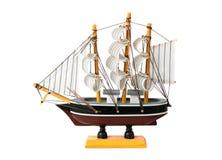 Model of sailing boat Royalty Free Stock Photos