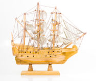 Model Sailing Ship stock image