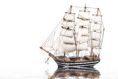 Model of the sailing ship Amerigo Vespucci Royalty Free Stock Image