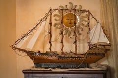Model of sailing ship Royalty Free Stock Photography