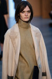 Model Sam Rollinson walk the runway at the Derek Lam Fashion Show during MBFW Fall 2015 Stock Photo